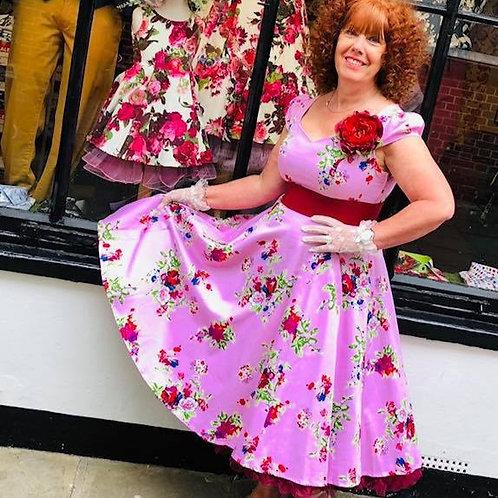 Pink Ballet Swing Dress