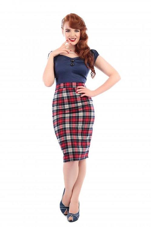 Polly Wiggle Skirt