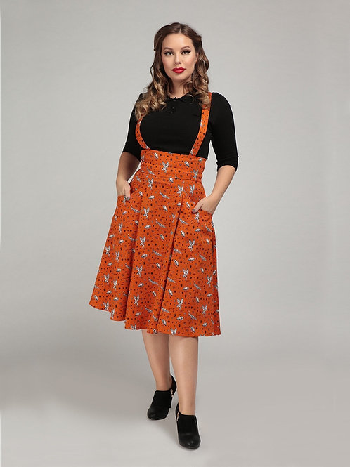 What a Hoot Pinafore skirt!