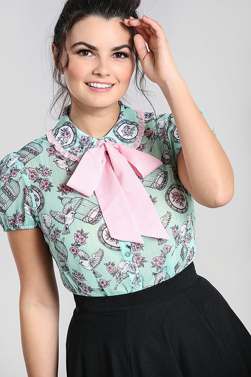 Birdy Love lace Blouse