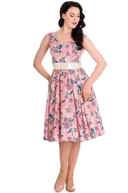 Pink Lacey Swing Dress