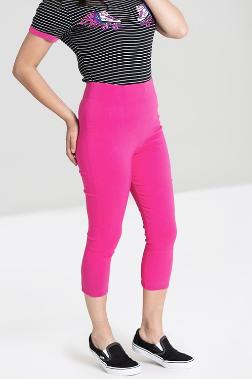 Hot Pink Kimberley Capri pants