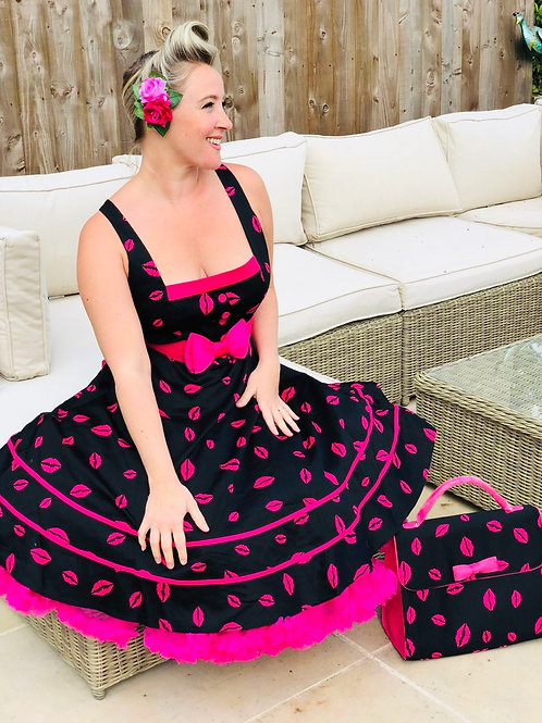 Shower me with Kisses Swing Dress