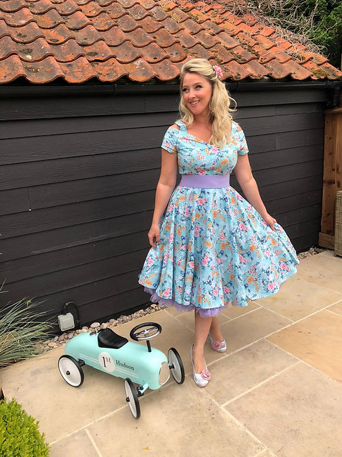Blossom Swing Dress