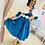 Thumbnail: Arabella in Teal swing dress