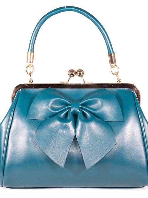 Teal Bow Bag