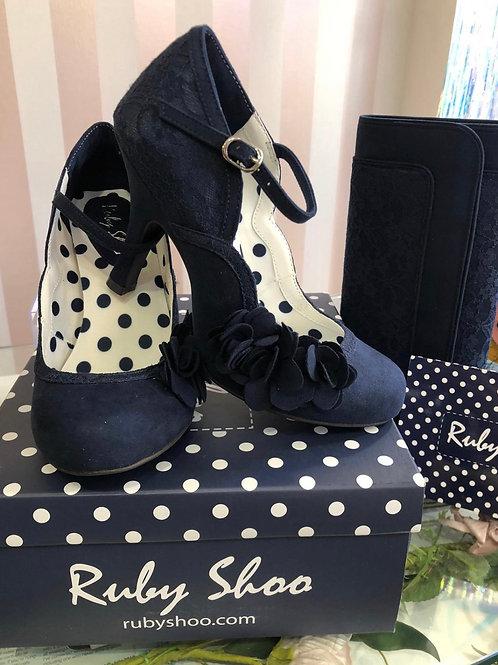 Riley Navy Shoe