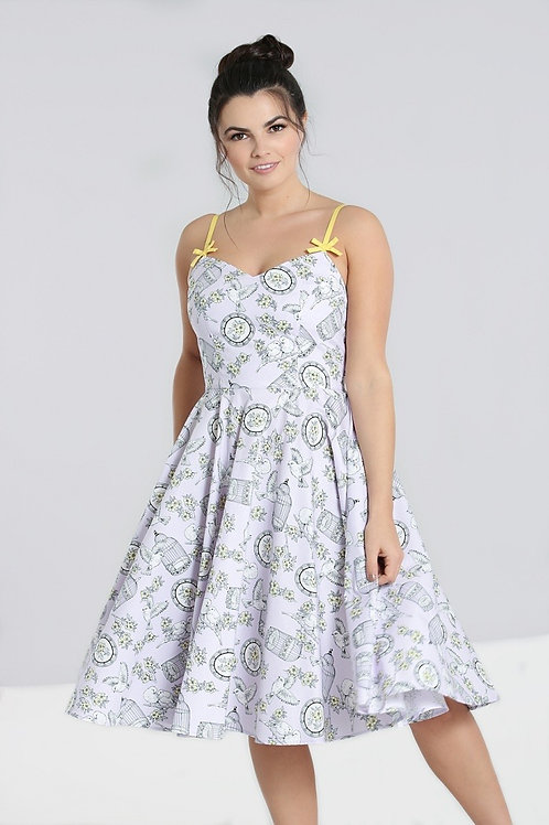 Bree Birdcage Dress lavender