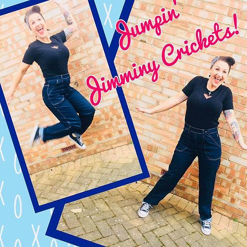 Denny Denim Rockabilly Jeans