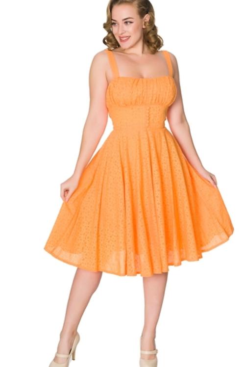 Orange Stephanie Swing Dress