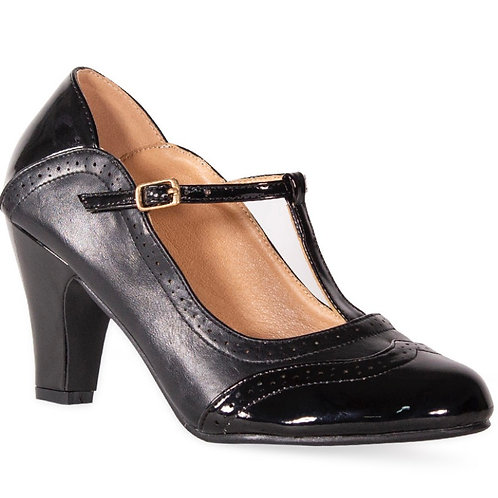 Black T Bar Shoe