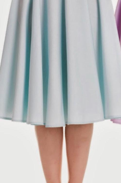 Sky Blue Doris Swing Skirt
