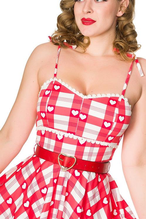 Holly Love Heart Swing Dress
