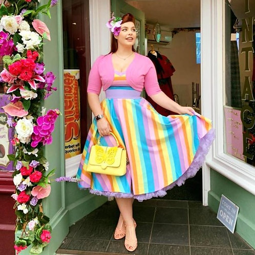 Raine Rainbow Swing Dress