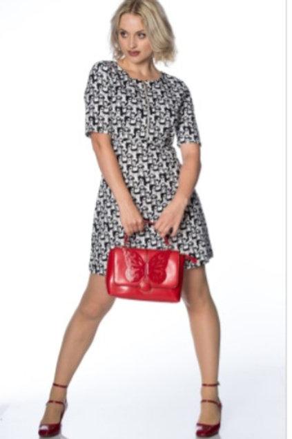 Red FlutterBy Bag