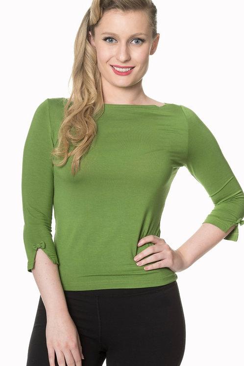 Belinda Bow Sleeve Top
