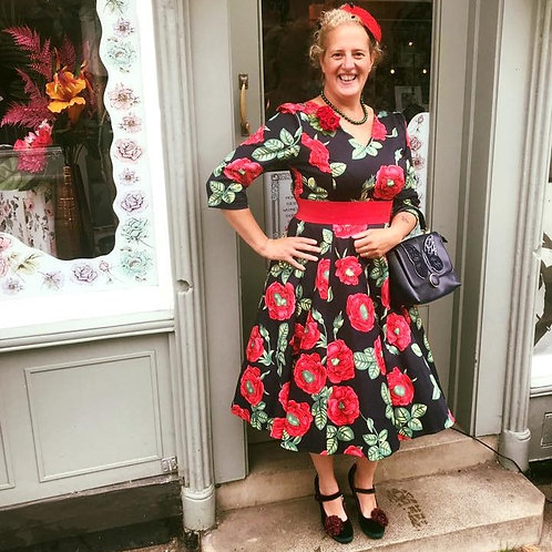 Poppy Aura Swing Dress