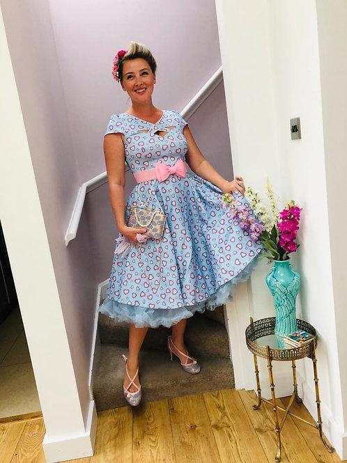 Lavinia Love Heart Swing Dress