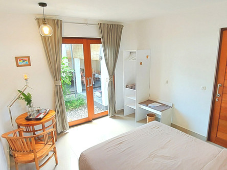 Our bright and clean rooms