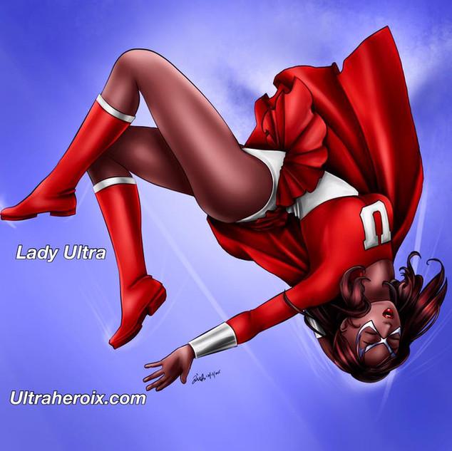 Lady Ultra falling!
