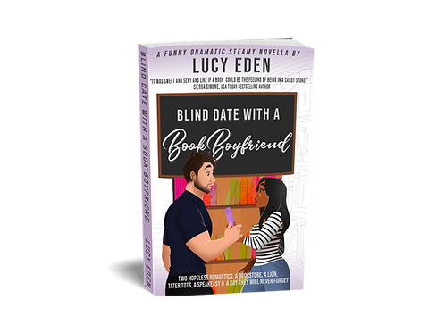 Blind Date with a Book Boyfriend (Personalized)