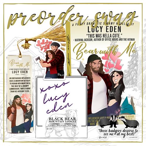 Bear With Me Signed Paperback- preorder bonus