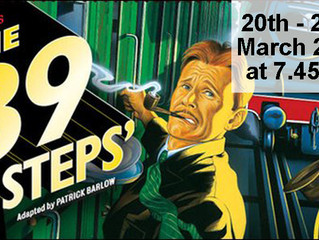 39 Steps - Read-throughs and Auditions