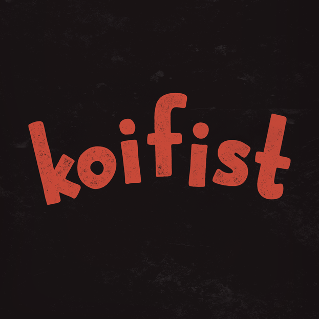 koifist_logotype-only_textured_inverted