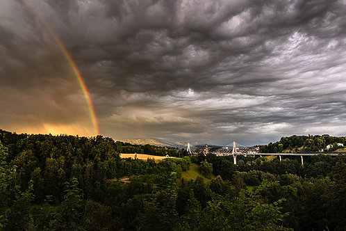 """TABLEAU   Fribourg """"Rainbow Fribourg"""""""