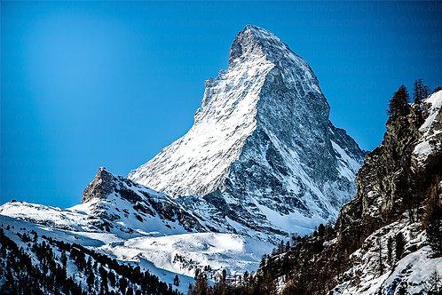 """TABLEAU   Matterhorn - """"Le Bleu du Cervin"""""""