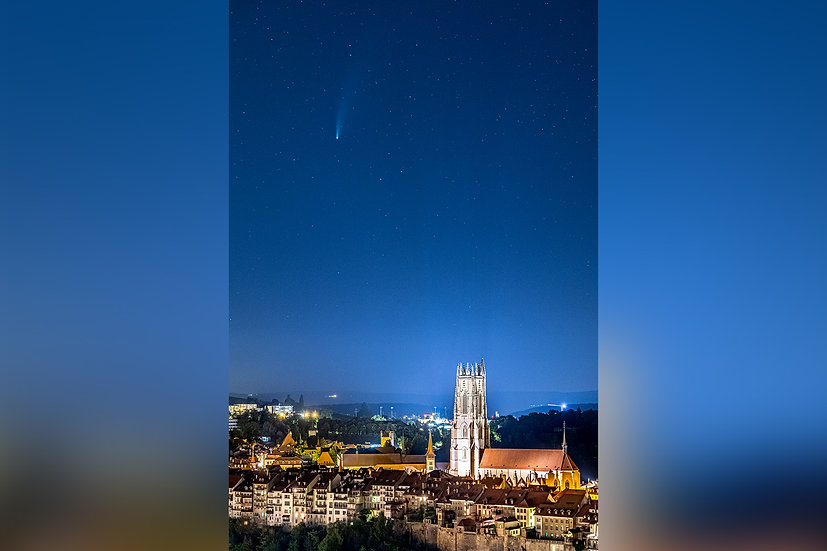 "TABLEAU | FRIBOURG ""Neowise Cathedral"""