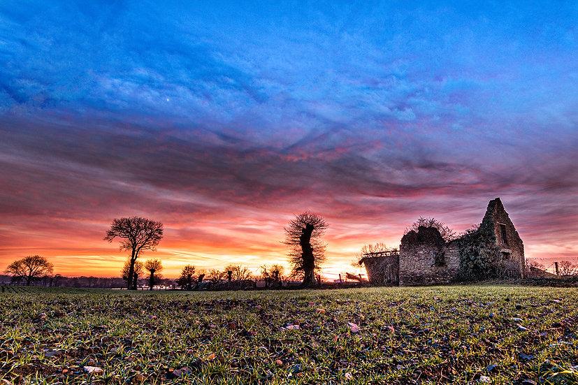 "TABLEAU | FRANCE ""Ruine Normande"""