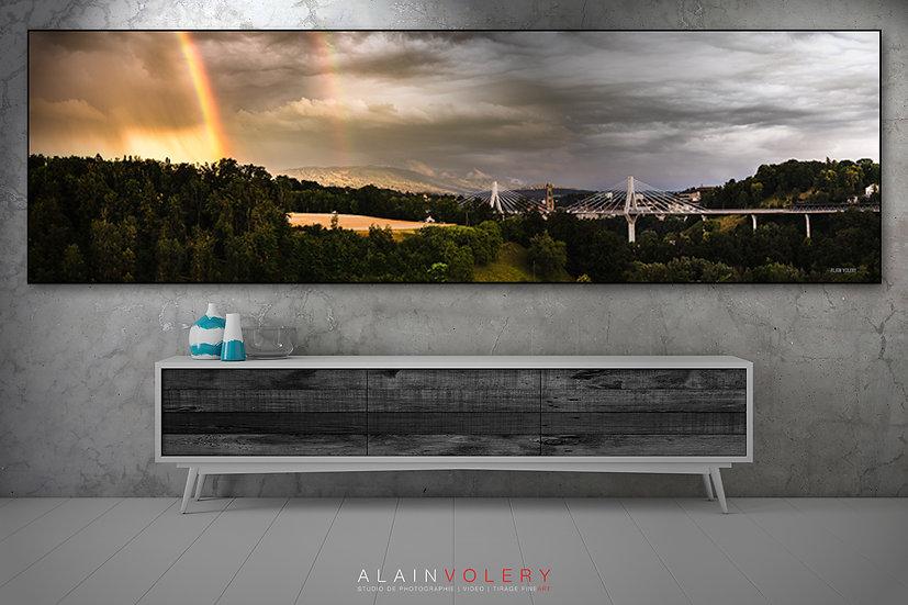 "TABLEAU | FRIBOURG ""Rainbow Panorama"""