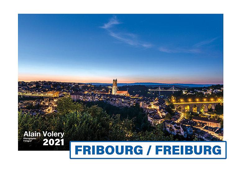 "Calendrier 2021 ""FRIBOURG/FREIBURG"""