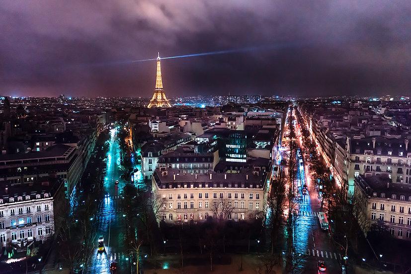 "TABLEAU | PARIS - ""Paris by Night"""