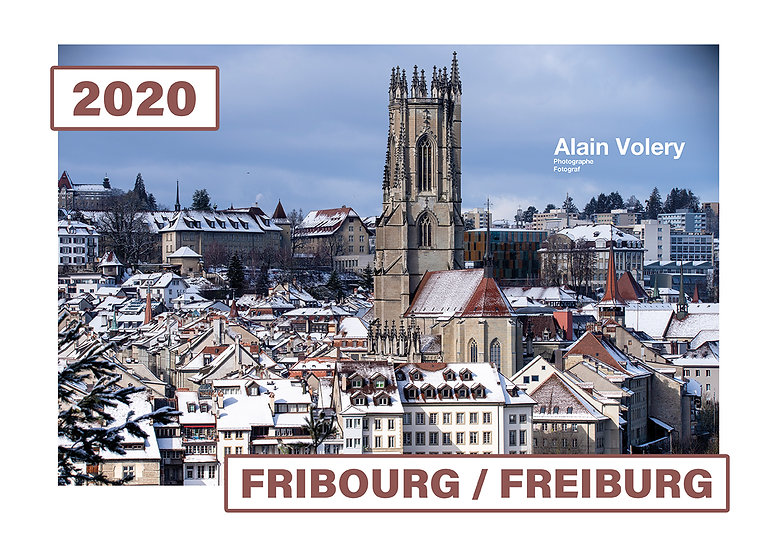 "Calendrier 2020 ""FRIBOURG/FREIBURG"""