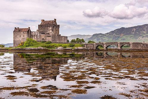 """TABLEAU   Ecosse """"Eilean Donan Castle"""""""