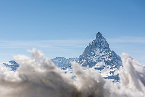 "TABLEAU | SWITZERLAND ""MATTERHORN CLOUD"""