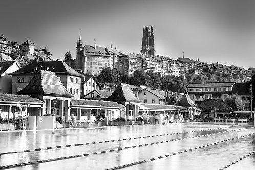 "TABLEAU | Fribourg""La Motta en Noir/Blanc"""