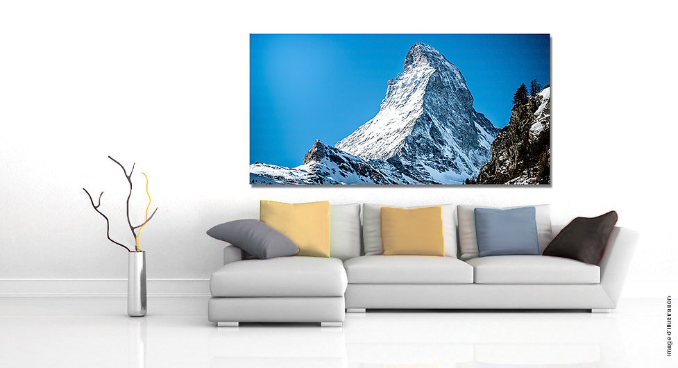 Tableau photo Cervin - Matterhorn
