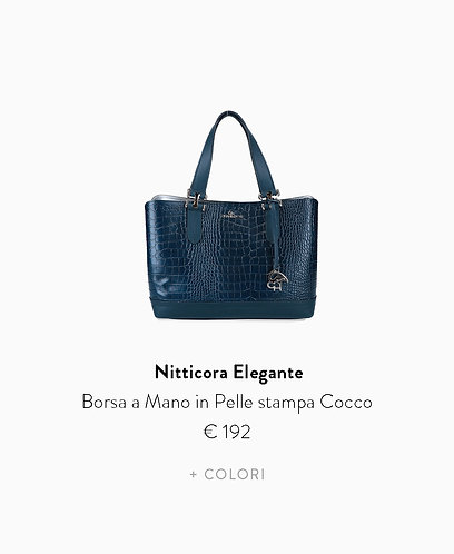 Borsa a Mano Medium in Stampa Cocco