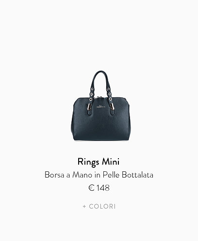 Borsa a Mano Mini in Pelle Bottalata