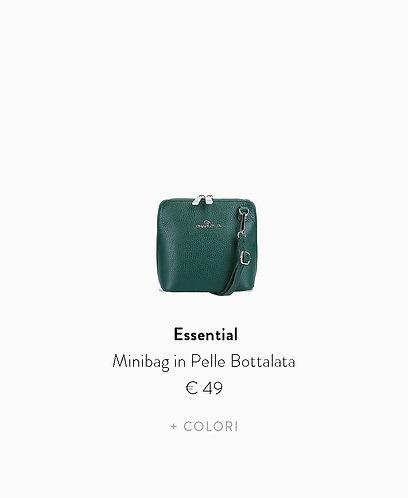 Minibag in  Pelle Bottalata