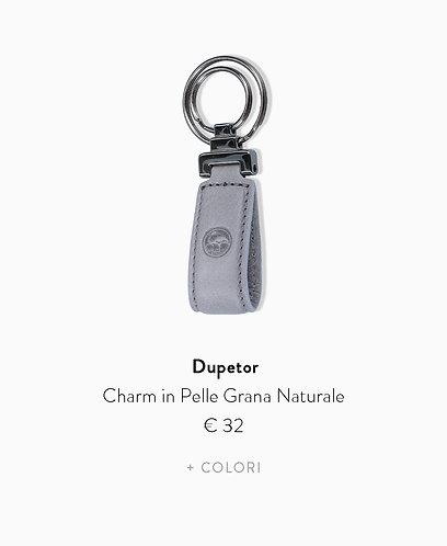 Charm in Pelle Grana Naturale