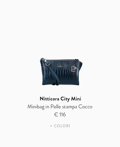 Minibag in Stampa Cocco