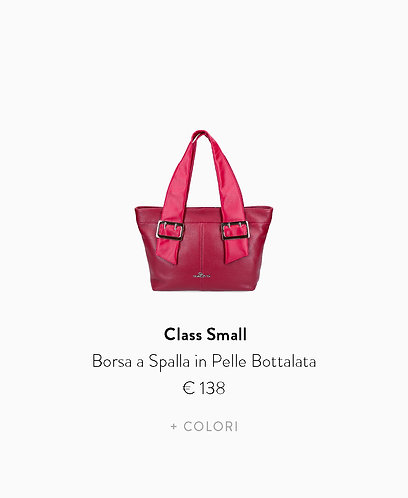 Borsa a Spalla Small in Pelle Bottalata