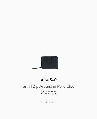 Small Zip Around in Pelle Elite