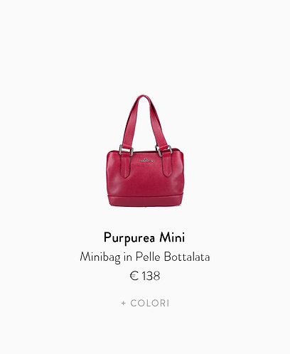 Minibag in Pelle Bottalata