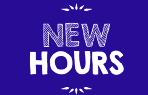 An update from Danny Mac's Pizza with new hours.