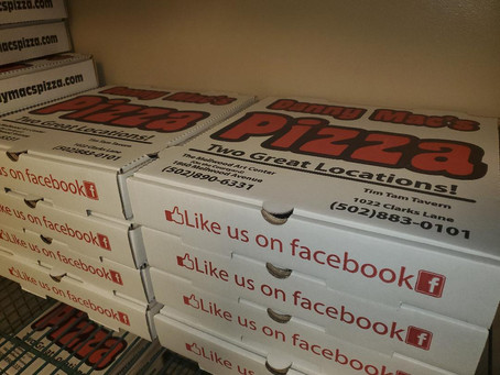 Danny Mac's Pizza launches carry-out special!